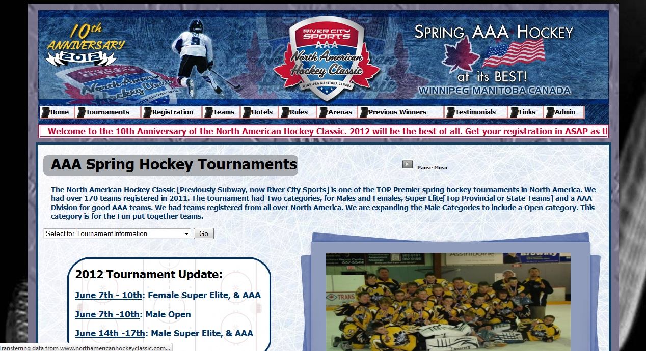 North American Hockey Classic company