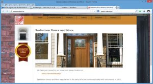 Saskatoon Doors Website Rebuild